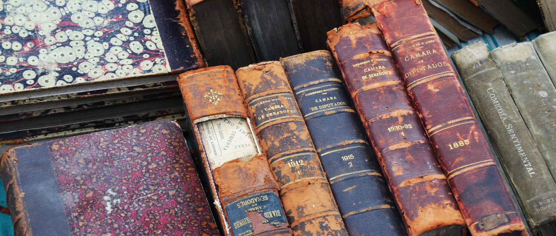 買取可能な洋古書や壊れた洋書